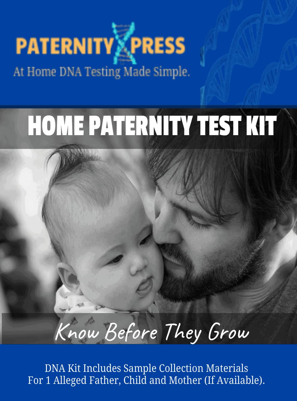 home paternity test kit