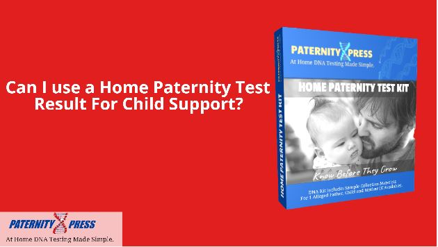 can i use a home paternity test result for child support