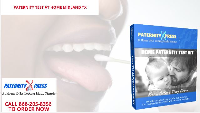 paternity test at home in midland texas