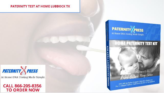 paternity test at home lubbock tx