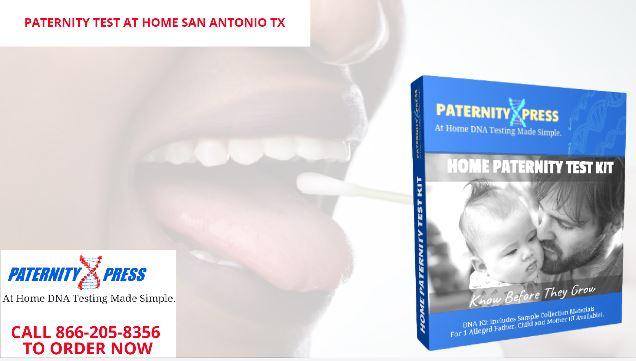 paternity testing at home san antonio texas