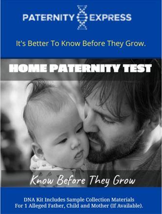 new home paternity test kit